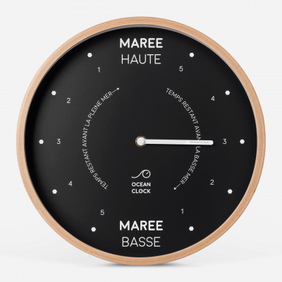 Horloge Des Marées Black