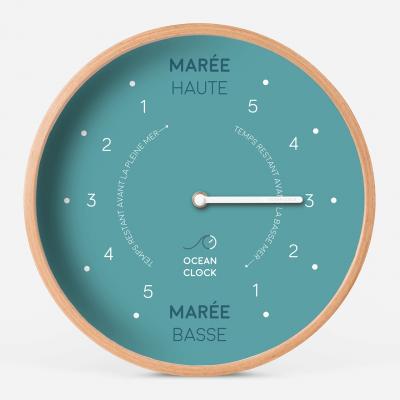 Horloge Des Marées Artic Blue