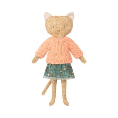 Doudou CHATONS, KITTEN - YELLOW