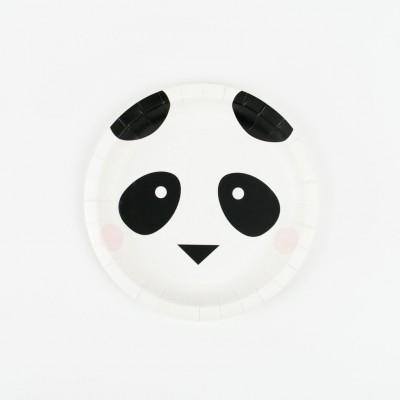 Assiettes Panda