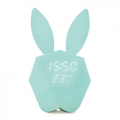 Cutie Clock Connect Reveil Blue