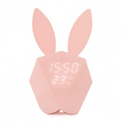 Cutie Clock Connect Reveil Pink