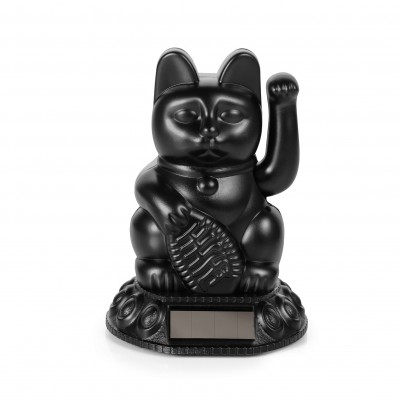 Lucky Cat Solar Black