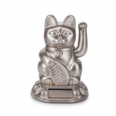 Lucky Cat Solar Moon Light