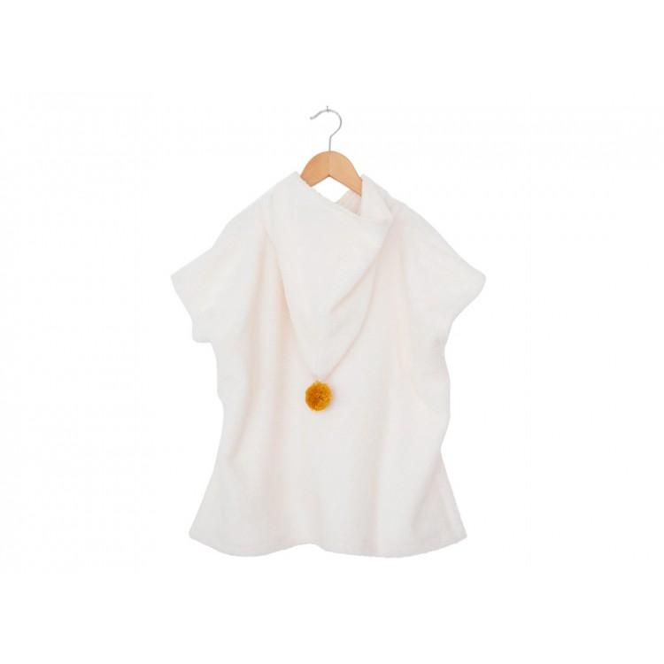 Poncho So Cute Blanc