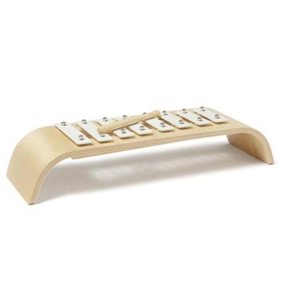Kids Concept® Xylophone enfant, bois blanc