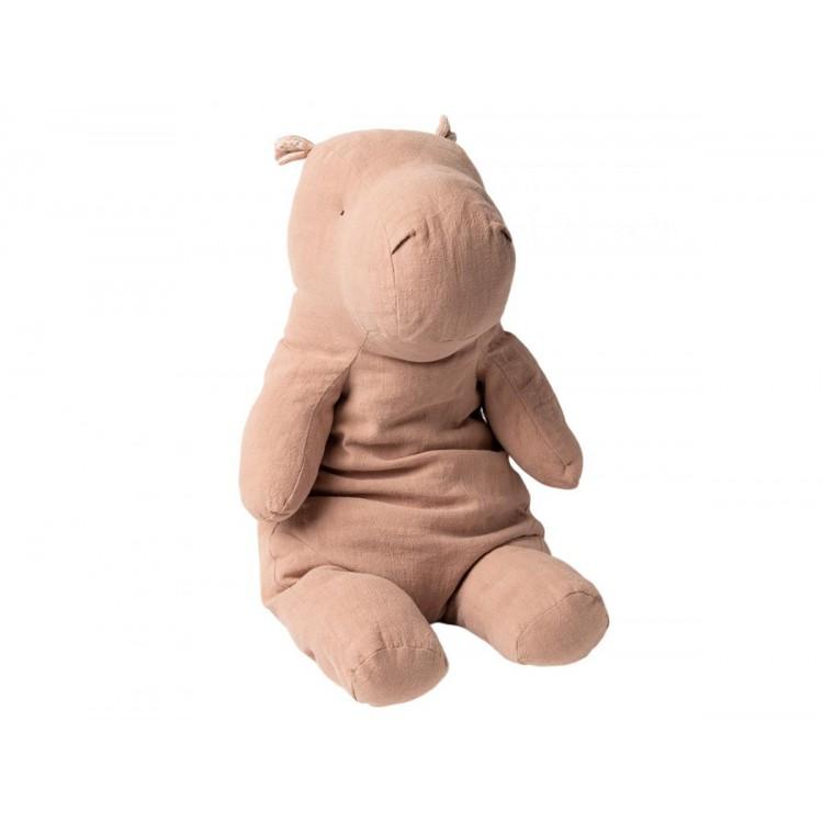 Large Hippo Pink Maileg