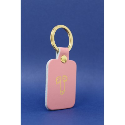 Porte Clés Will Key Pink