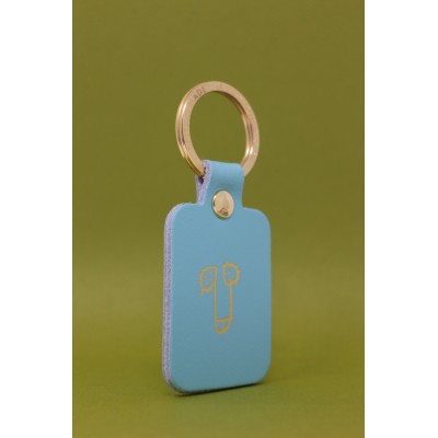 Porte Clés Will Key Blue
