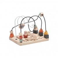 Circuit jeu avec perles Néo - Multicolore