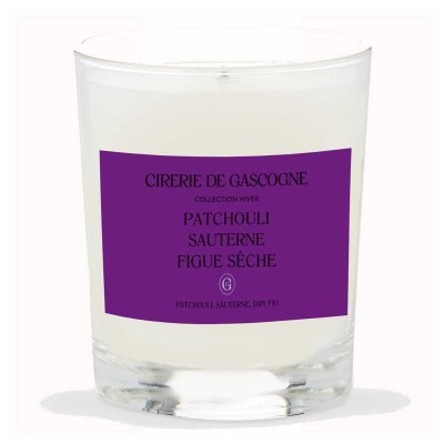 Bougie Patchouli - Sauterne - Figue sêche