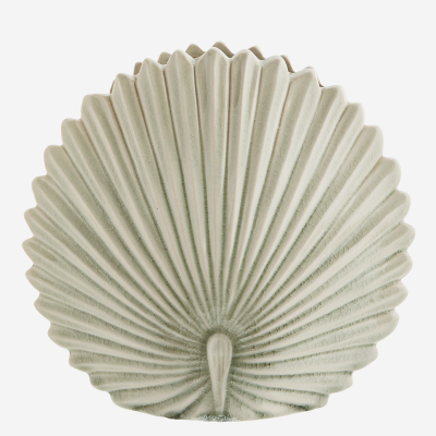 Vase Feuille Cream