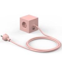 Bloc Multiprise Cube Design Pink