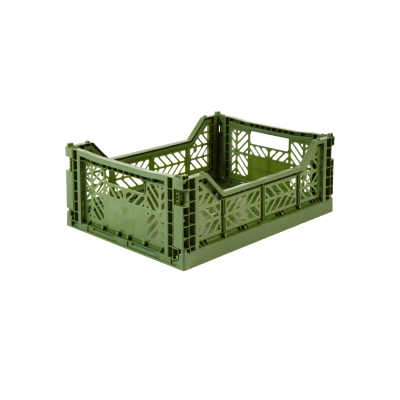 Caisse de rangement Midi Khaki