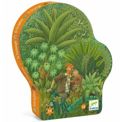 Puzzle Dans la Jungle 54p