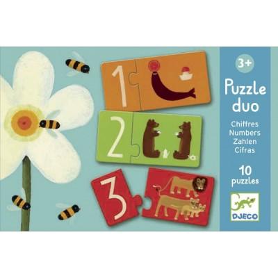 Puzzle Duo Chiffres 24p