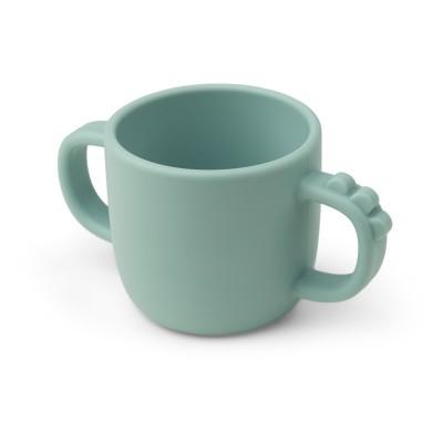 Tasse Croco en silicone Bleu