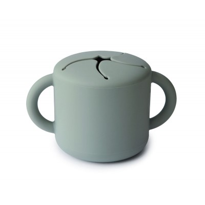 Snack Cup Mushie Green