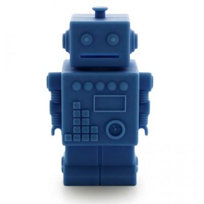 Tirelire Robot Bleu Marine